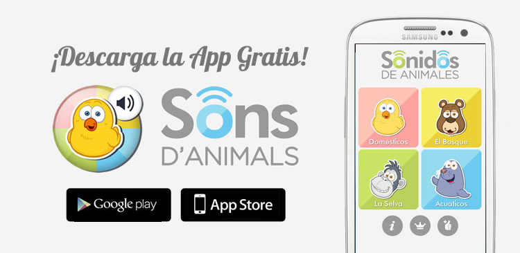 APP Sons d'Animals per a nens
